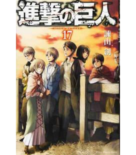 Shingeki no Kyojin (L'Attacco dei Giganti) Vol. 17