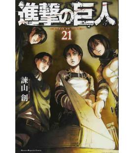 Shingeki no Kyojin (L'Attacco dei Giganti) Vol. 21