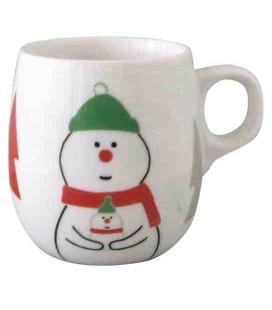 Decole - Tazza di Natale con pupazzo di neve - Modello ZXS-74041
