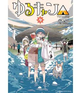 Yuru Camp Vol. 9 (Laid Back Camp)