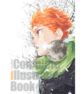 Haikyu!! Complete Illustration Book: Owari to Hajimari (The End and the Beginning)