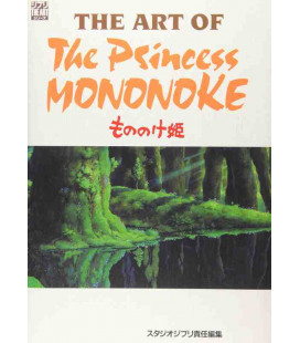 The Art of Princess Mononoke - Libro illustrato del film