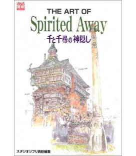 The Art of Spirited Away - Libro illustrato del film