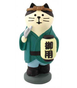 Decole - Gatto dell'anno nuovo okappiki neko - Concombre Fuku Mono - Modello ZTM-43576