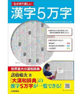 Enjoy looking at 50,000 Kanji - Poster di kanji
