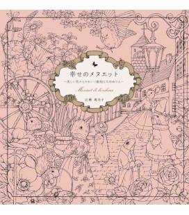 Shiawase no menuetto - Menuet de bonheur - Libro da colorare