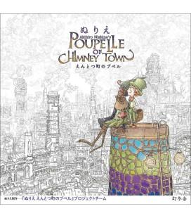 Akihiro Nishino's Poupe Lle of Chimney Town - Libro da colorare