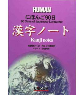 90 days of the Japanese Language - Human - Kanji notes