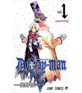 D.Gray-Man Vol.1