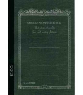 Apica CG54 - Notebook (Formato B6 - Colore nero - Quadrettato - 104 fogli)