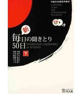 Everyday Listening in 50 Days- Listening Tasks for Intermediate Students - Vol.2 (1 CD Incluso)