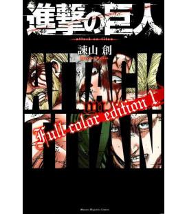 Shingeki no Kyojin (L'Attacco dei Giganti) Full color edition 1