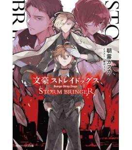 Bungo Stray Dogs - Storm Bringer - Romanzo giapponese scritto da Kafka Asagiri