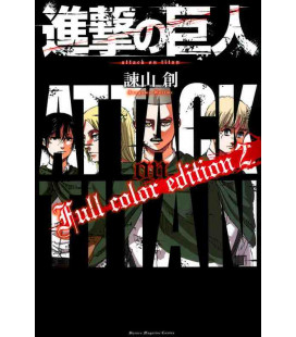 Shingeki no Kyojin (L'Attacco dei Giganti) Full color edition 2