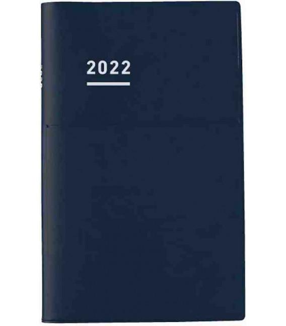 Jibun Techo Kokuyo - Agenda 2022 - Biz Diary - A5 Slim - Blu navy