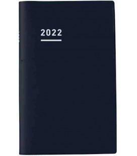 Jibun Techo Kokuyo - Agenda 2022 - Biz Diary - A5 Slim - Colore nero