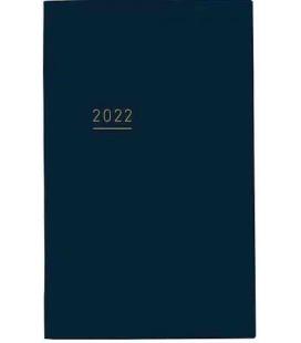 Jibun Techo Kokuyo - Agenda 2022 - Lite Mini Diary - B6 Slim - Blu navy