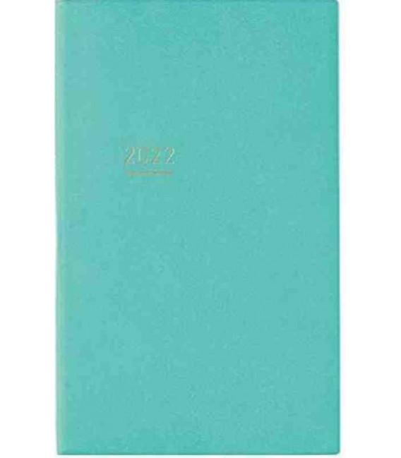 Jibun Techo Kokuyo - Agenda 2022 - Lite Mini Diary - B6 Slim - Turchese