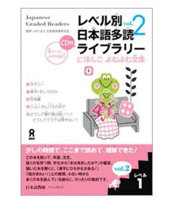 Japanese Graded Readers, Level 1- Volume 2 (CD incluso)