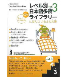 Japanese Graded Readers, Level 3 - Volume 3 (CD incluso)